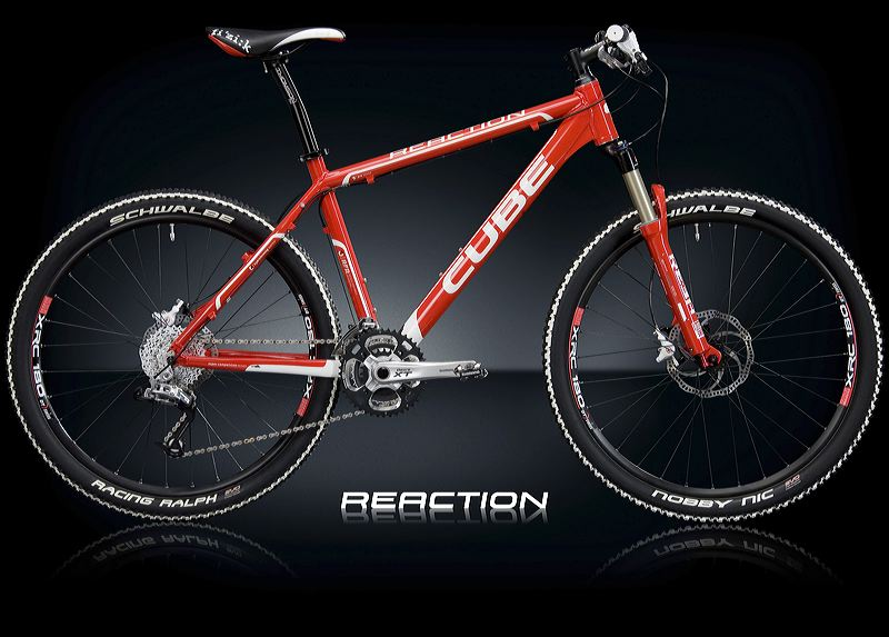 CUBE REACTION RACING RED